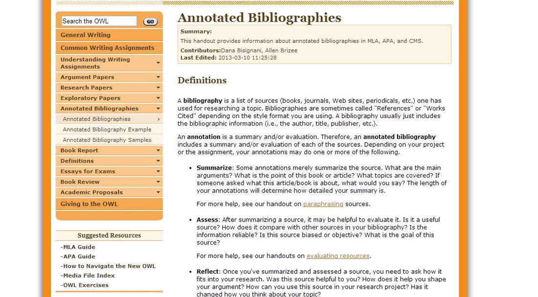 What are some advantages of writing good annotated bibliographic entries?